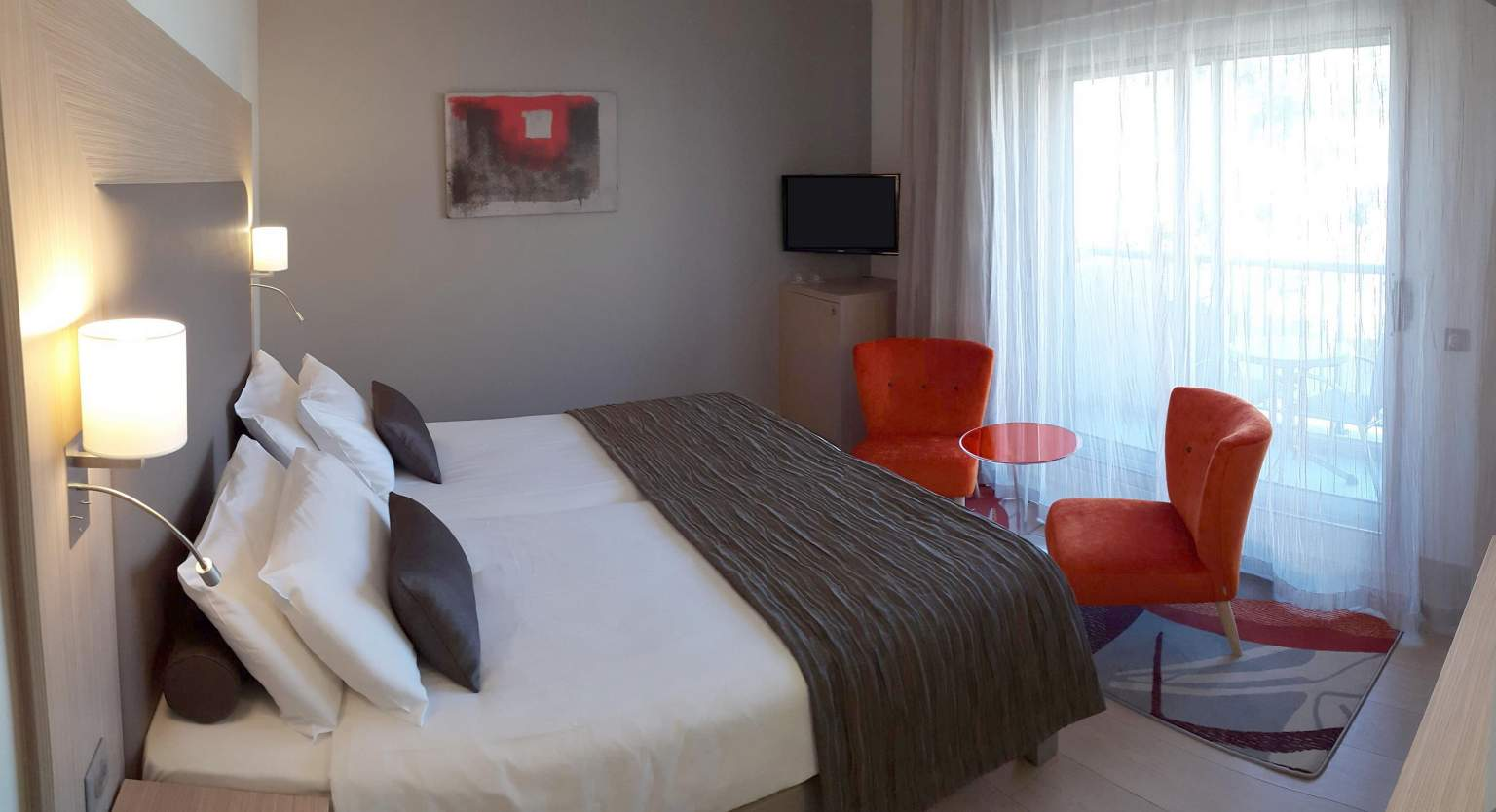 Chambre montagne confort<span>Hôtel</span>Princess & Richmond à Menton